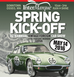 InterMarque Spring Kick-Off: 24th Annual Vintage Car Show @ Downtown Osseo, MN | Osseo | Minnesota | United States